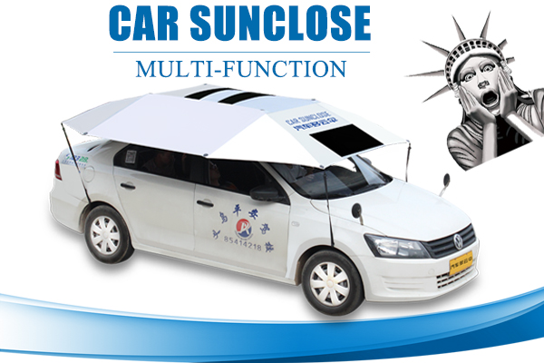 Sunclose folding logo printed best quality uv resist car sun shade