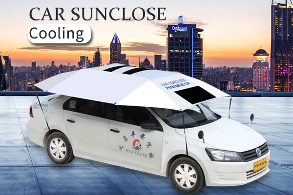 SUNCLOSE car interior temperature reduce outdoor parking sun protection car cover